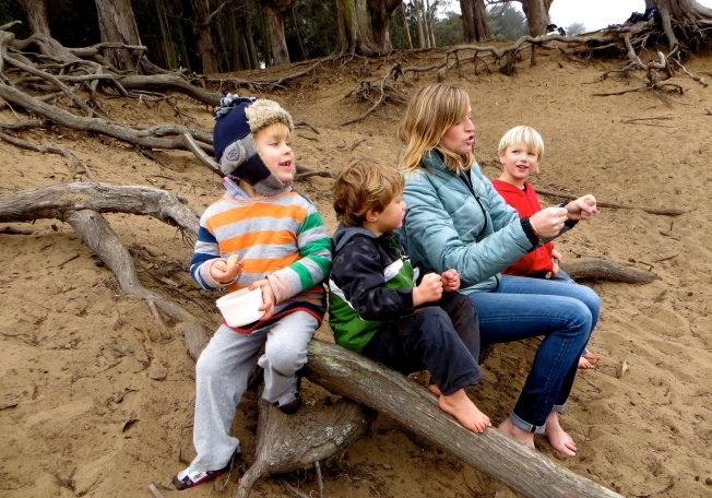 Nature based preschools are a new concept of preschools taking entirely outdoors that is starting to make its way into the States.